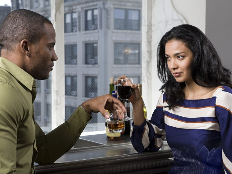 Drinking and dating isn't always a match made in heaven.