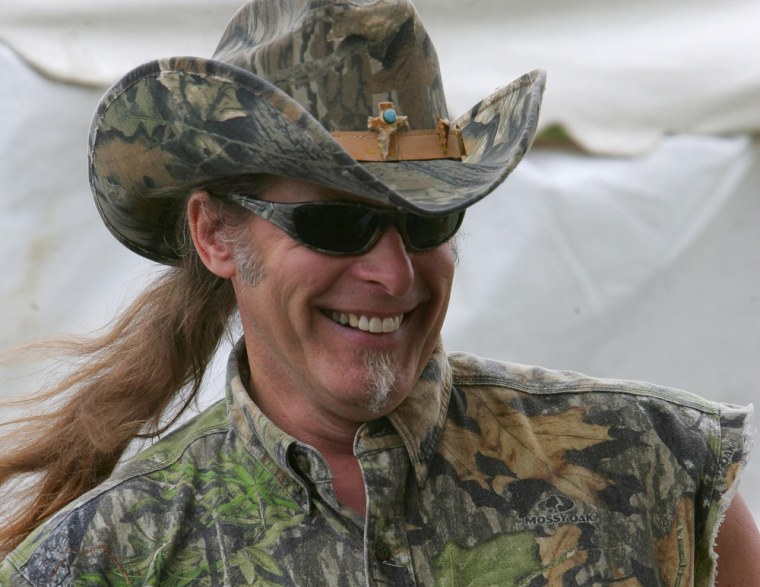 Ted Nugent  Michigan ads should show dead animals 55ae4482b61