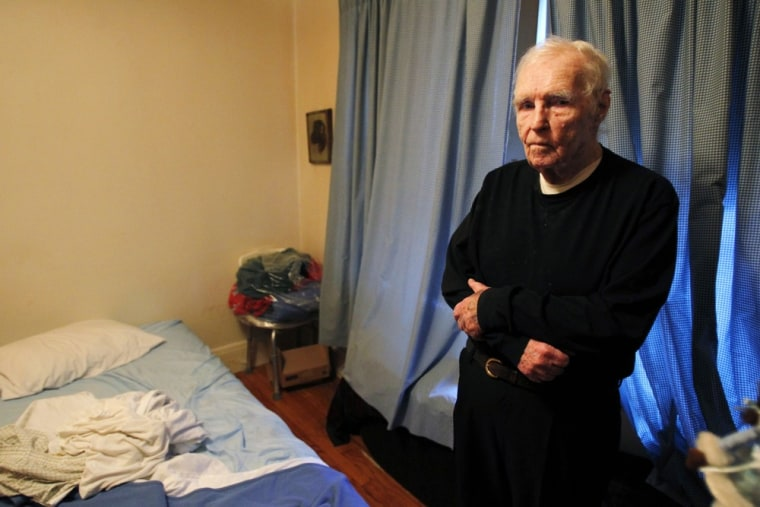World War II veteran Howard McGowan, 88, is facing a 50 percent rent hike on the one-bedroom apartment in Malden, Mass., he and his wife have shared for 25 years.