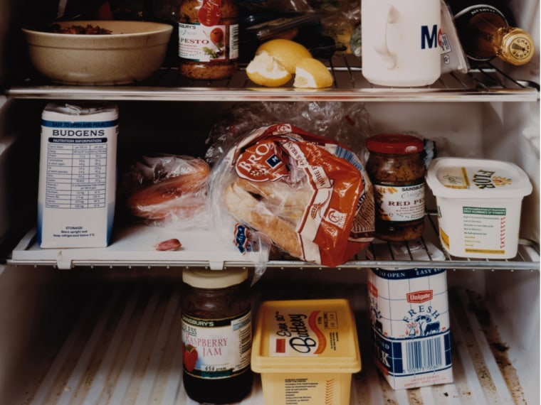 The bottom shelf of the refrigerator collects all the germs from the meat dripping down. Dr. Charles Gerba says wipe down the bottom shelf every two weeks with a disinfectant made for the kitchen.