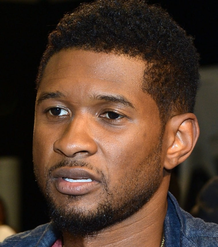 Usher reportedly chartered a plane for his ex-wife so she could be by her son's side.