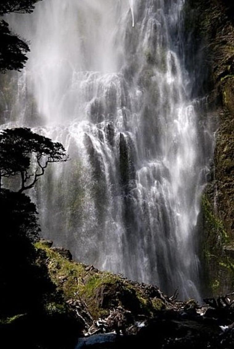 Devil's Punchbowl Falls, New Zealand