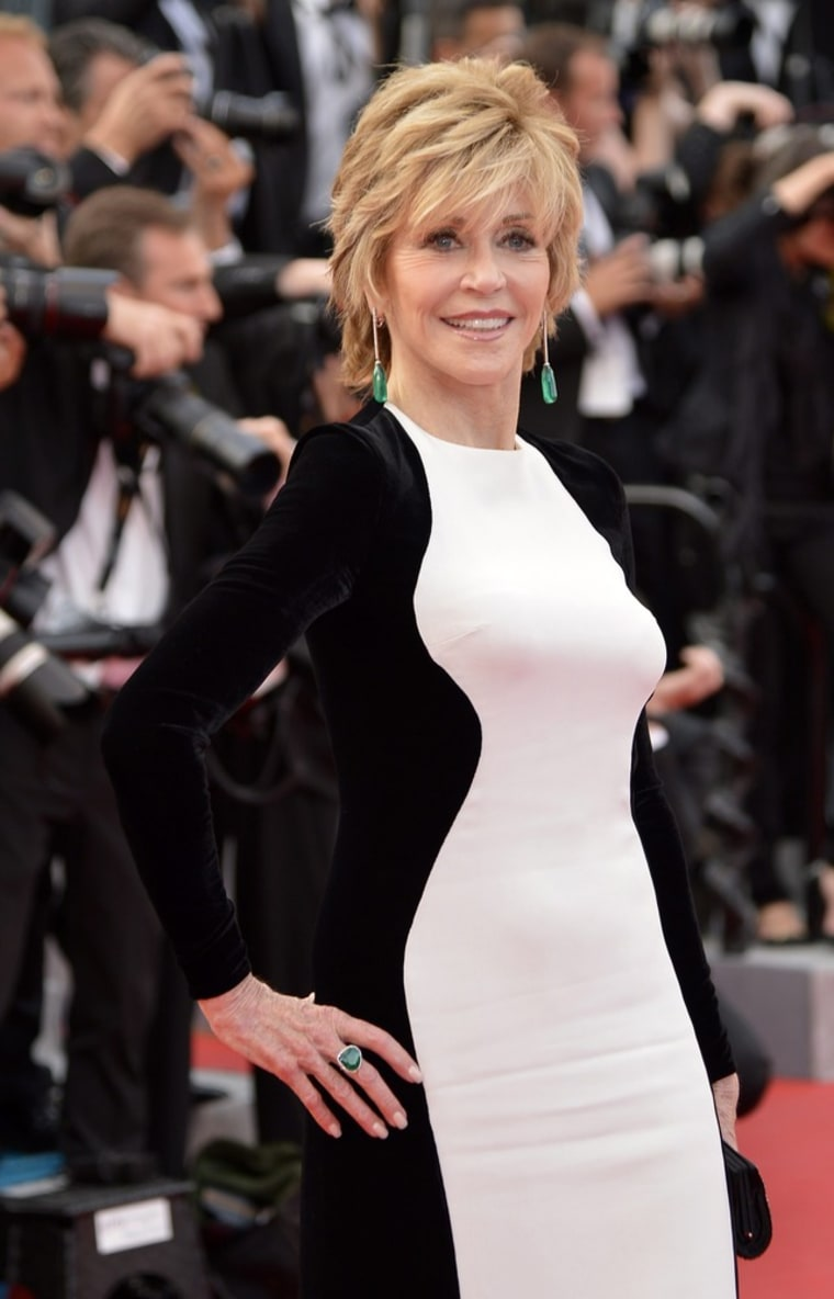 Jane Fonda at the Cannes Film Festival in May.