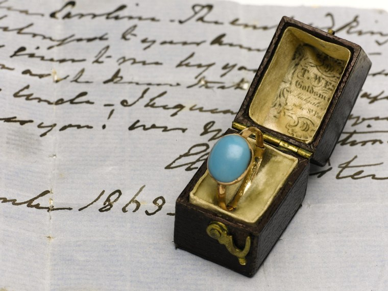 Competition was fierce among the eight bidders vying for a ring that once belonged to Jane Austen. The ring sold for five times its estimate.