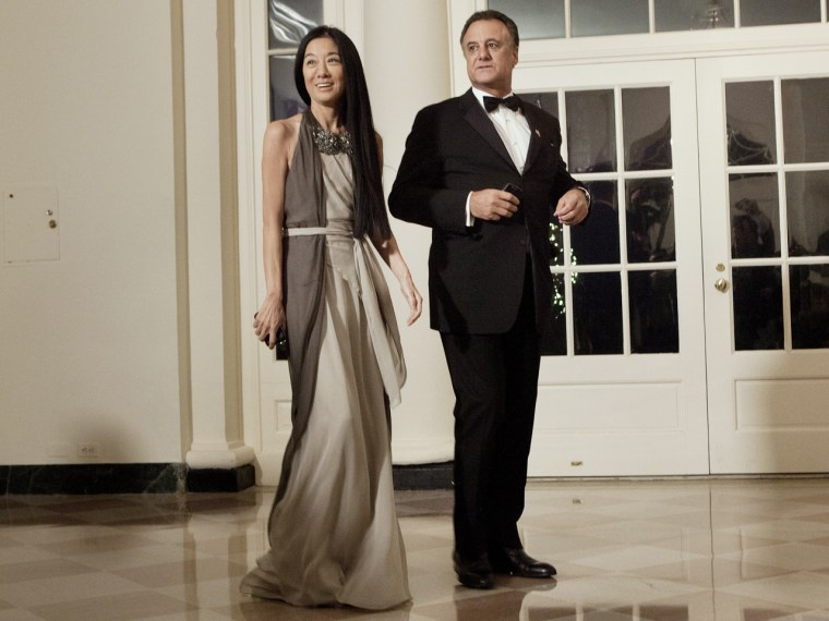 Designer Vera Wang separates from her husband after 23 years
