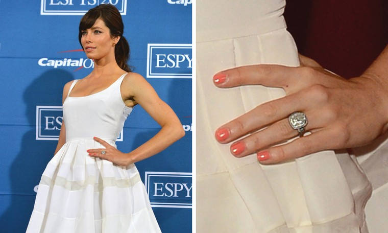 Jessica Biel at the ESPY Awards in Los Angeles on Wednesday night.
