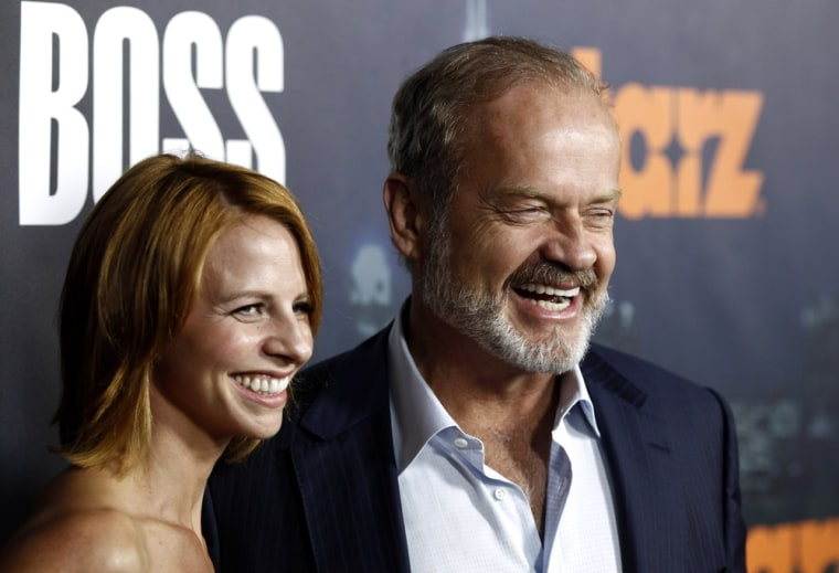 Kelsey Grammer and wife, Kayte