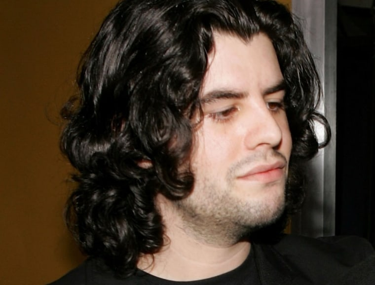 """Sage Stallone at the premiere of """"Rocky Balboa"""" on Dec. 13, 2006."""