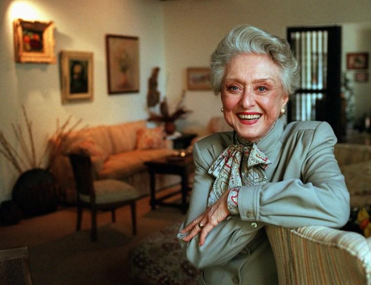 Celeste Holm in 1997.
