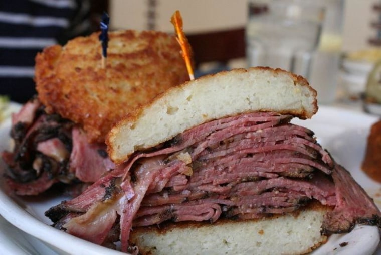 The Instant Heart Attack sandwich is decadent and delicious, and a treat New Yorkers can continue to enjoy.