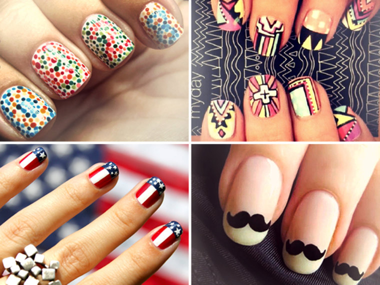 Get creative with your nails: 7 awesome nail art ideas