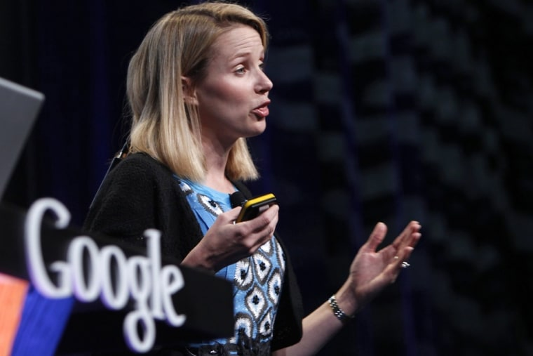 """My maternity leave will be a few weeks long and I'll work throughout it."" new Yahoo CEO Marissa Mayer said."