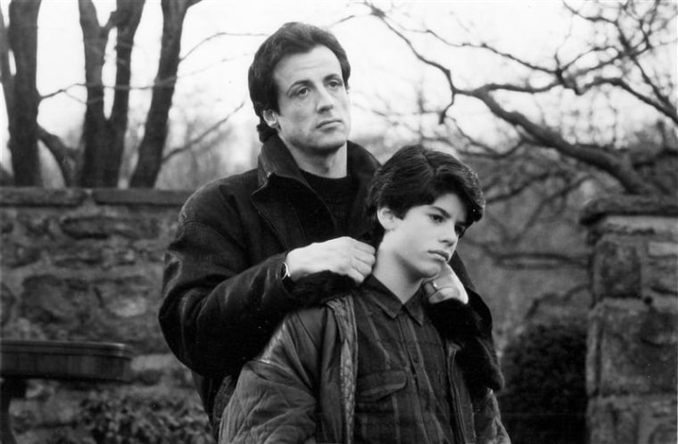 "Sage Stallone starred with dad Sylvester in 1990's ""Rocky V."""