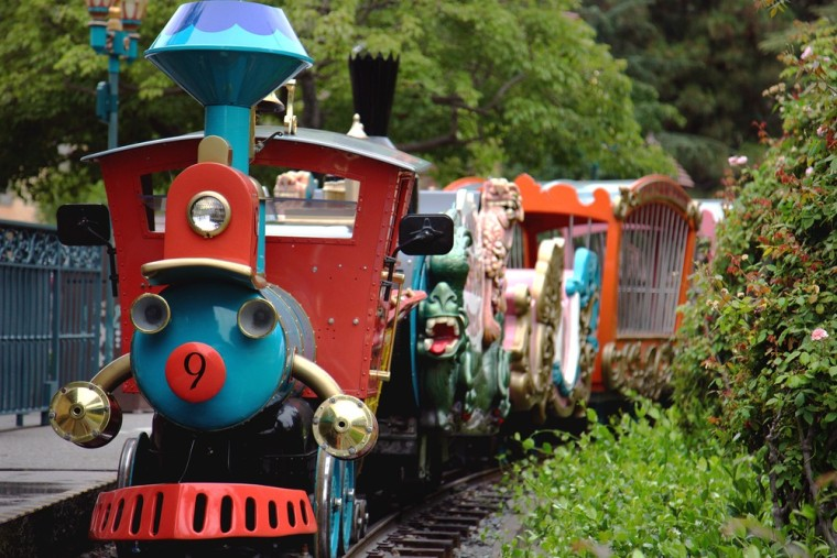 Walt Disney adored trains so much that he ringed his park with them and had another built in his backyard. But this miniature Casey Jr. Circus Train in Disneyland gave him as much trouble as a full-size one.