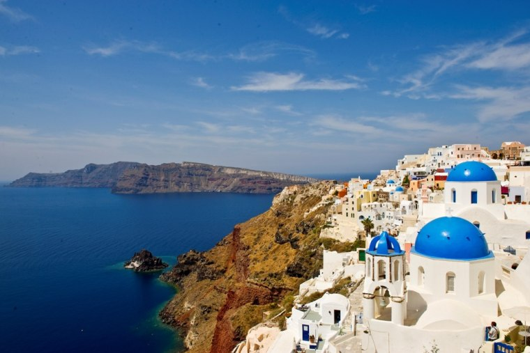 Adventures by Disney offers tours to destinations such as Santorini, Greece.