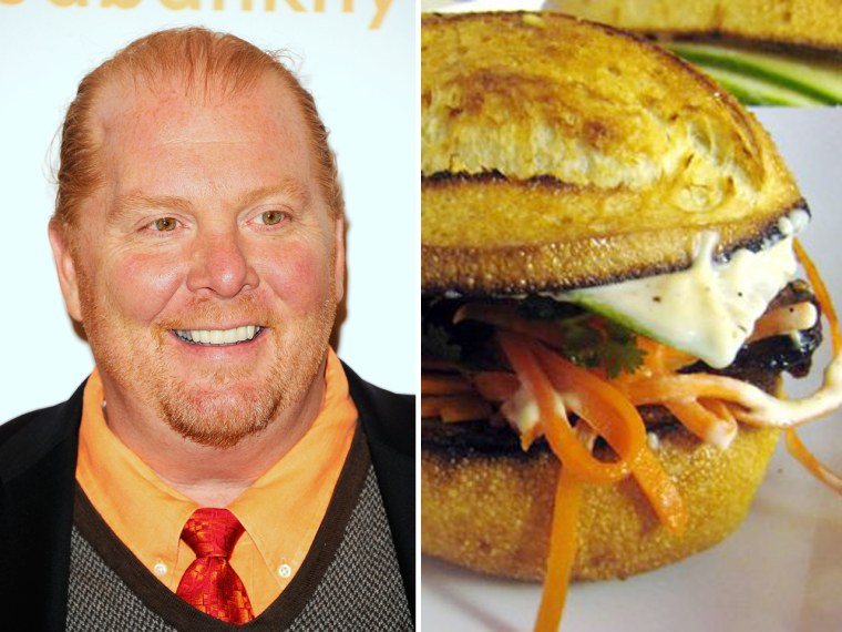 Celebrity chef Mario Batali counts New York City's Num Pang, which serves up Cambodian sandwiches, among his favorite restaurants.