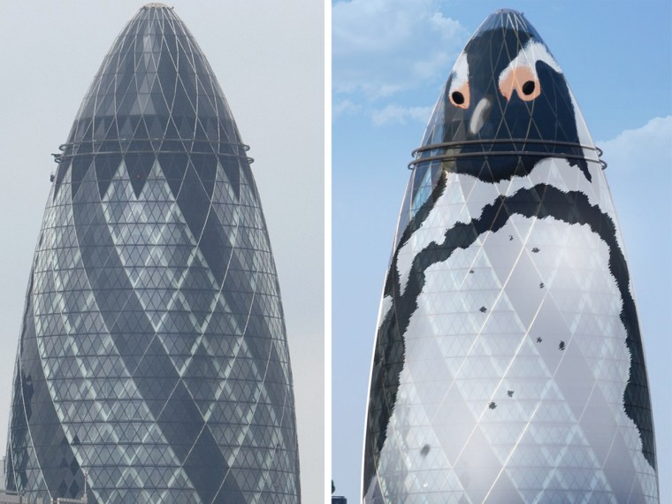 Londoners may soon find themselves under the watchful gaze of 'The Penguin,' a redesign of one of the city's financial buildings.