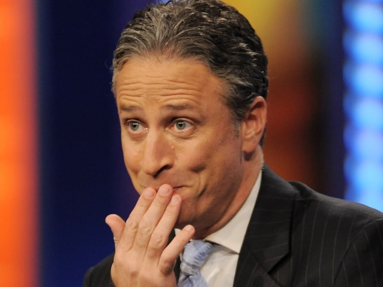 """""""The Daily Show with Jon Stewart."""""""