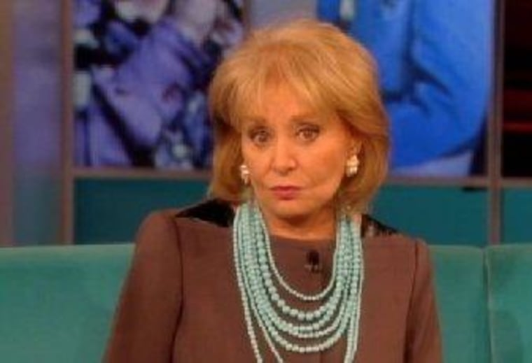 "Barbara Walters refused to take a last-minute call from George Zimmerman on ""The View."""