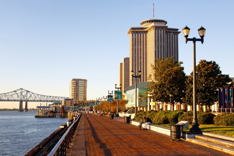 Continuing to rebound from the effects of Hurricane Katrina, New Orleans had the highest population growth in the country for any city over the size of 100,000.