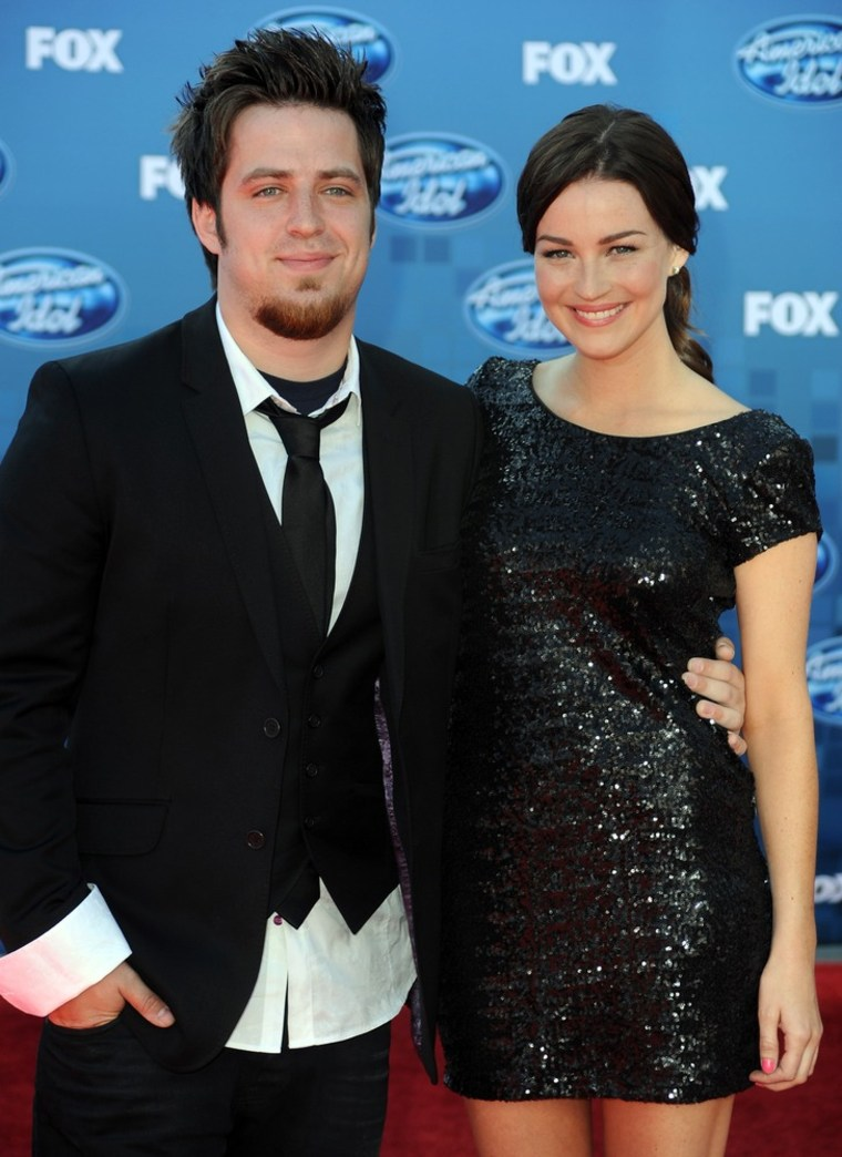 Lee DeWyze and Jonna Walsh