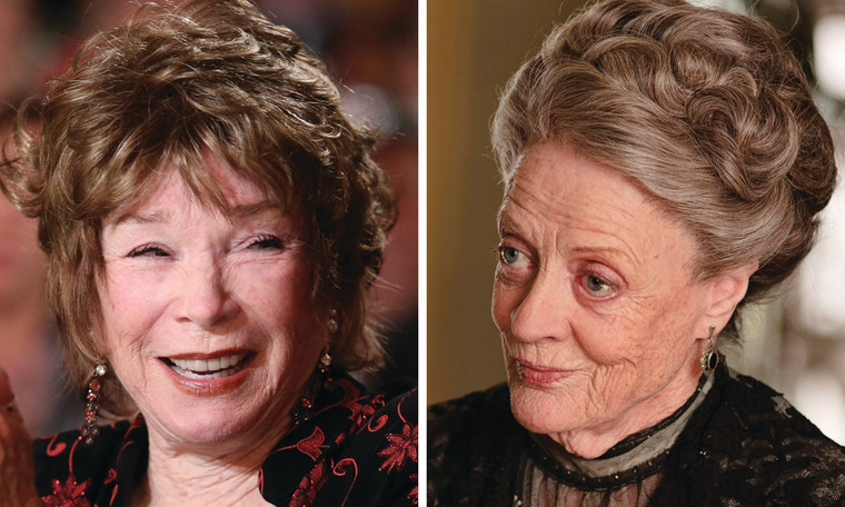 Shirley MacLaine, left, and Maggie Smith