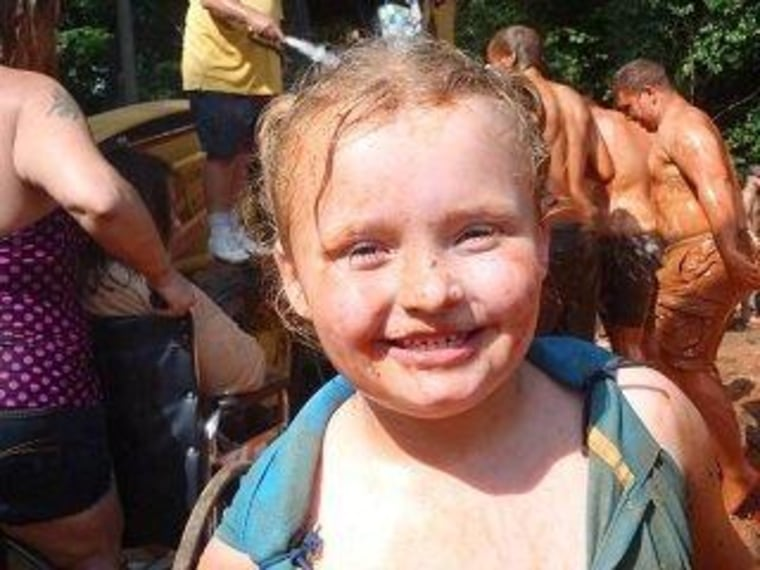 "Alana, aka Honey Boo Boo, trades her pageant princess look for fun in the mud on her upcoming show, ""Here Comes Honey Boo Boo."""
