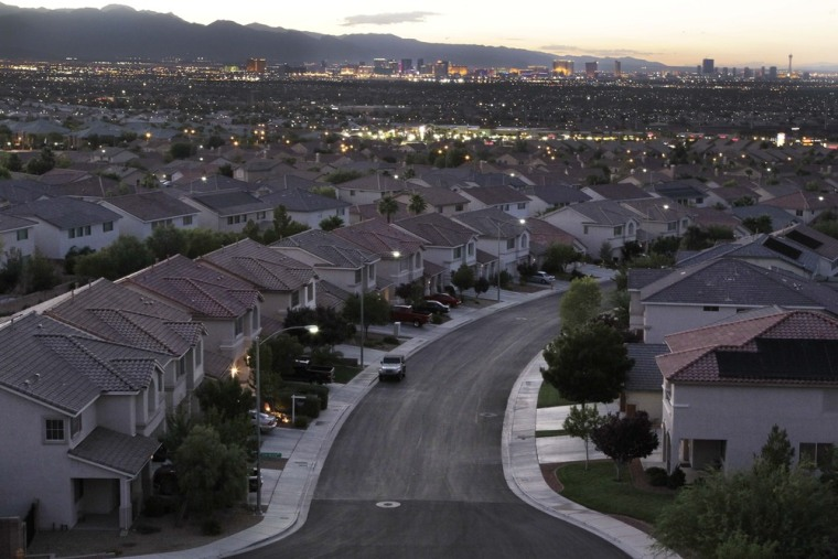 No state has been hit harder by the housing downturn than Nevada. Between the end of 2006 and the end of 2011, home values have tanked nearly 60 percent, higher than any other state by 7.2 percentage points.