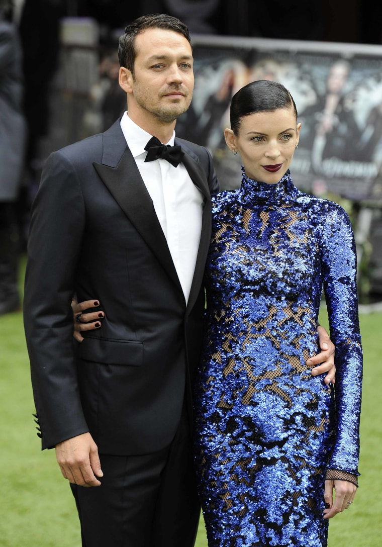 Rupert Sanders and wife Liberty Ross in May.