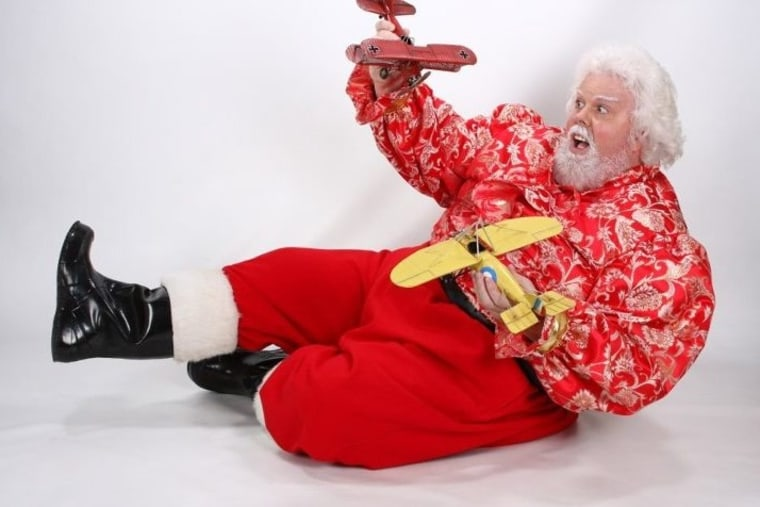 """Thomas Tolbert, 52, was asked to be less """"Santa-ish"""" during a recent trip to Disney World."""