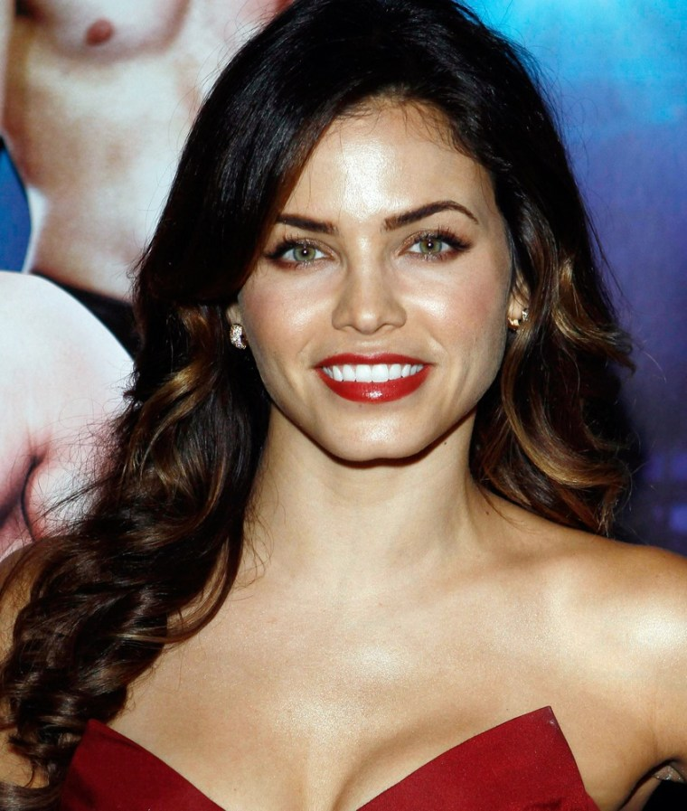 """Jenna Dewan, who's married to """"Magic Mike's"""" Channing Tatum, will co-star with Adam Levine in """"American Horror Story."""" Their pairing has been described as """"The Lovers."""""""