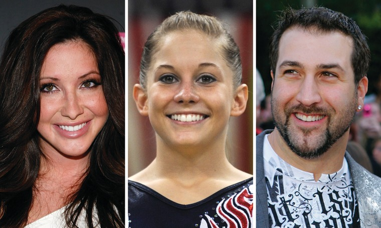 "Bristol Palin, Shawn Johnson and Joey Fatone are all competing again on ""DWTS."""