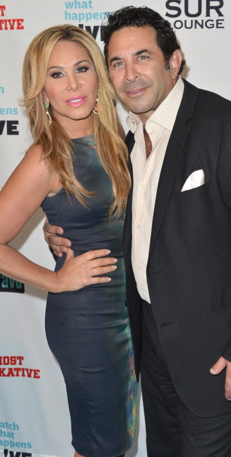 Adrienne Maloof and Paul Nassir in May.