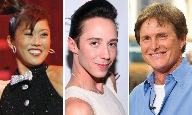 Kristi Yamaguchi, Johnny Weir and Bruce Jenner all went from the Olympics to reality TV.
