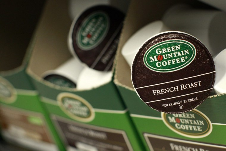 In the most recently reported quarter, revenue at Green Mountain's parent company rose 37 percent to $885 million.