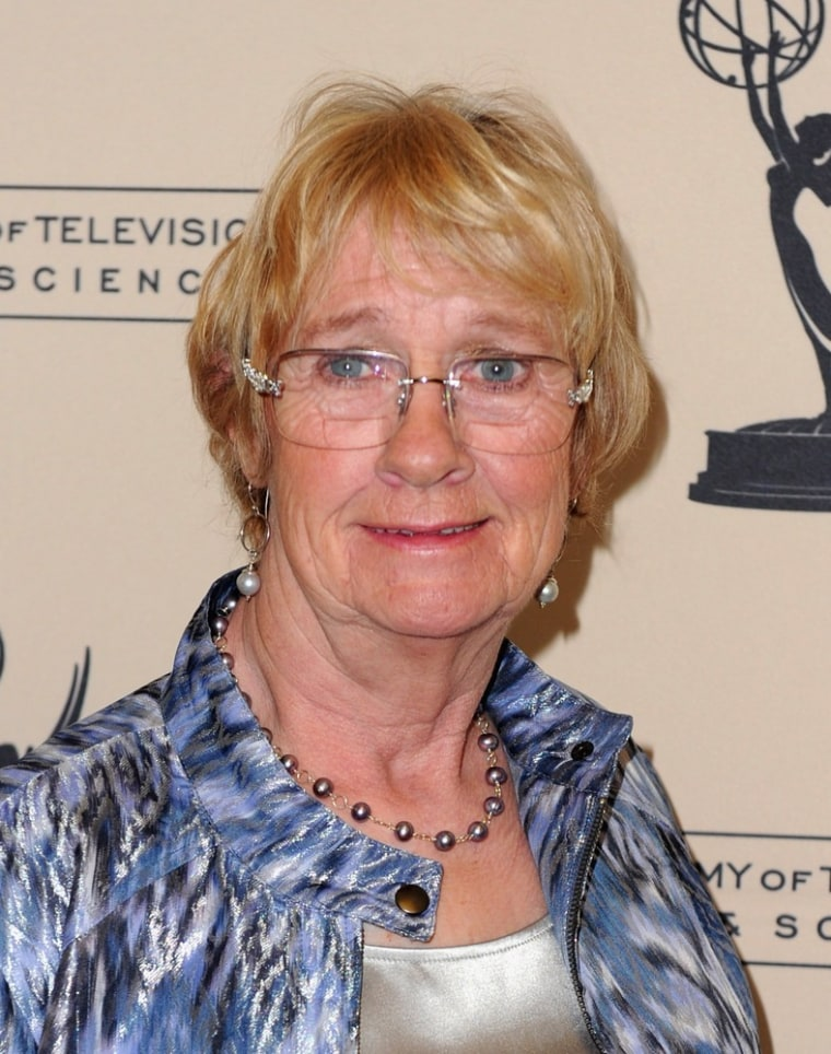 Actress Kathryn Joosten, who died Saturday, is shown at The Academy of Television Arts and Sciences' Performers Peer Grooup celebrating The 63rd Primetime Emmy Awards on Aug. 22, 2011, in Universal City, Calif.