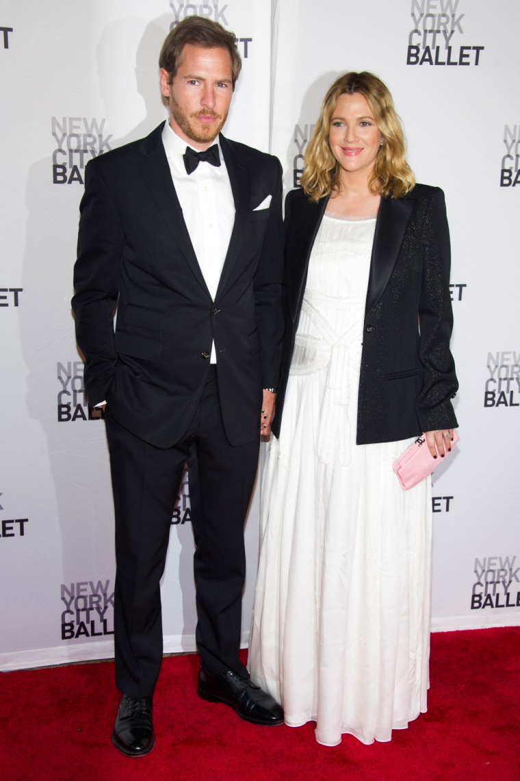 Will Kopelman and Drew Barrymore attend the New York City Ballet's Spring Gala in New York on Thursday, May 10, 2012.
