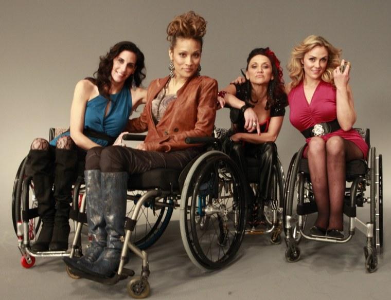 "The women of ""Push Girls"" from left, Mia Schaikewitz, Angela Rockwood, Auti Angel and Tiphany Adams."