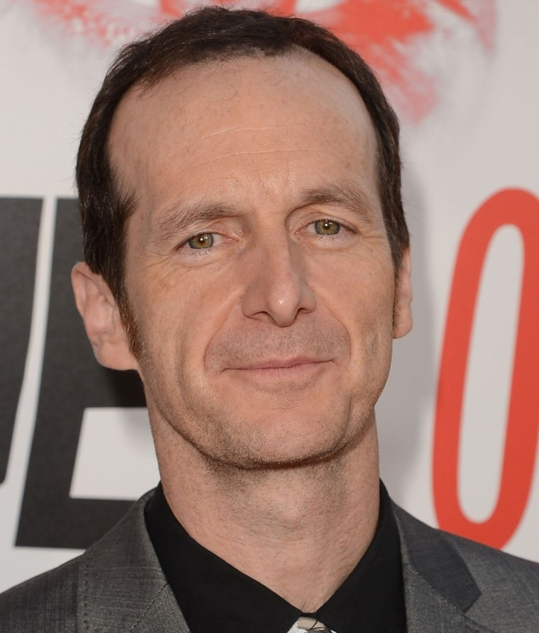 """""""True Blood"""" star Denis O'Hare at the show's premiere in Hollywood on May 30."""