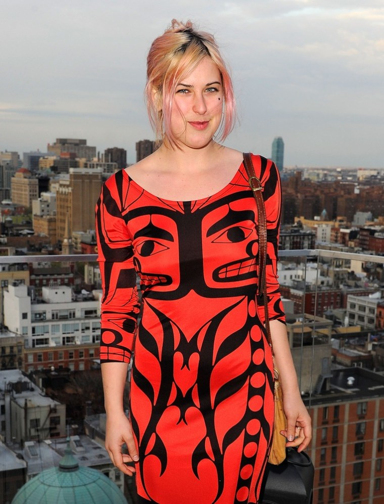 Scout Willis in New York on April 11.