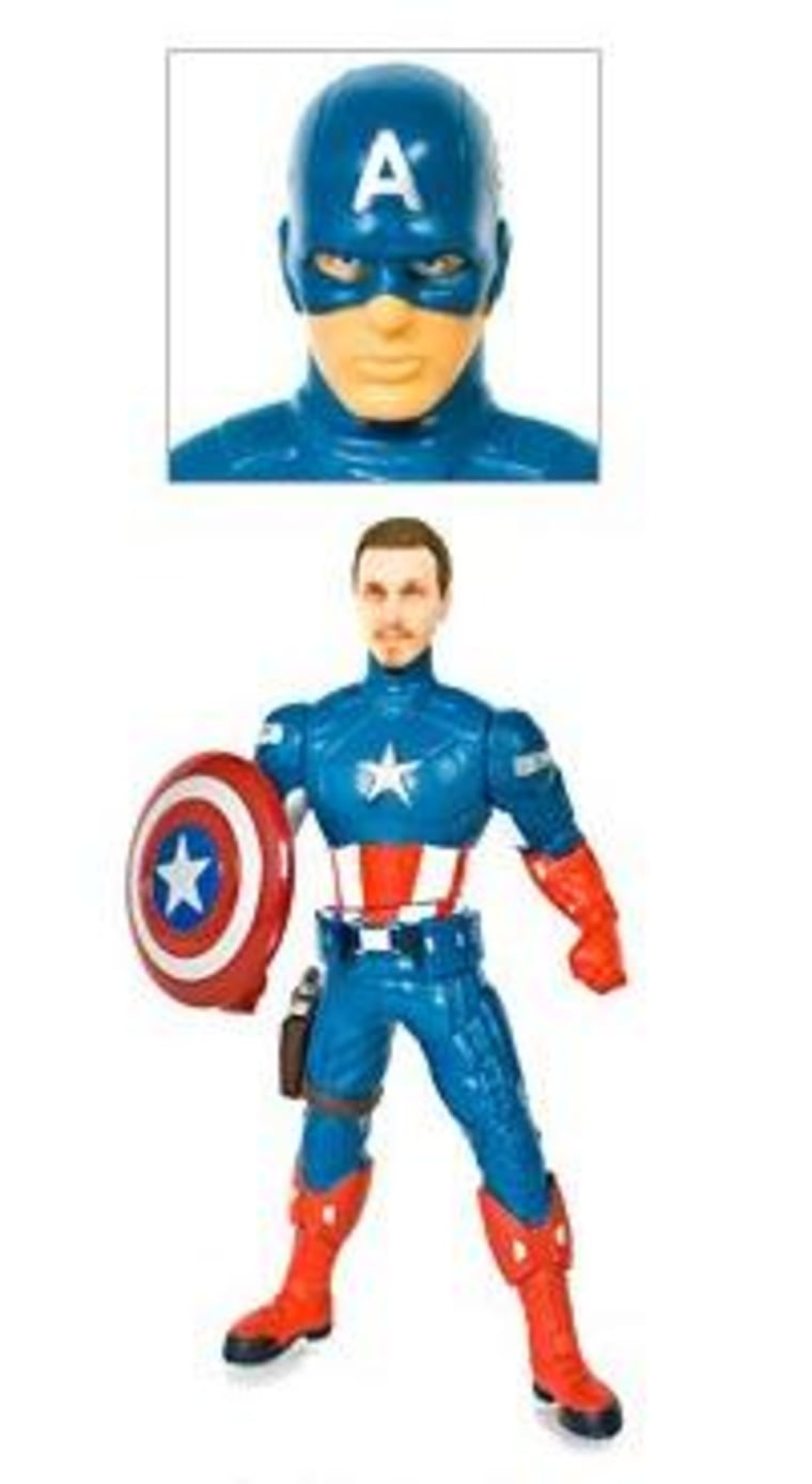 Now your dad can be a hero, with help from Firebox's personalized figurines!