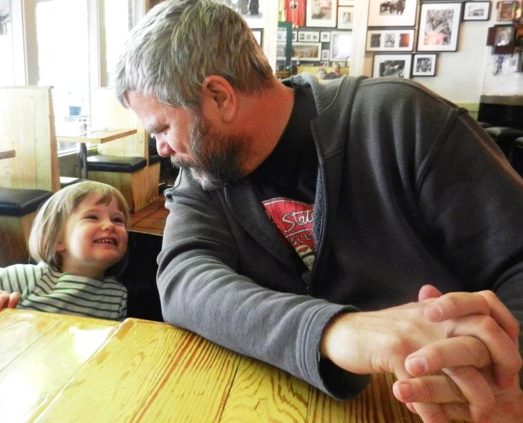 Bob Trott and daughter NJ, 2