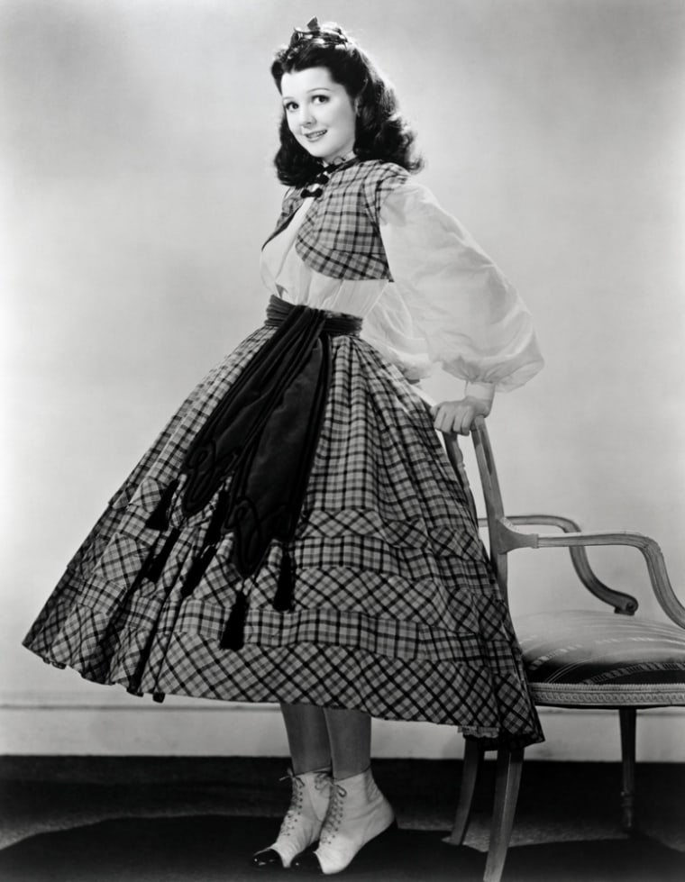 """Ann Rutherford in 1939's """"Gone With the Wind."""""""