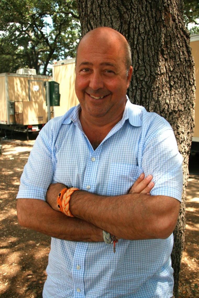 """Andrew Zimmern, host of """"Bizarre Foods."""""""