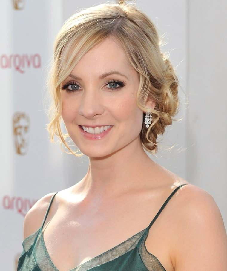 Joanne Froggatt out of her maid costume in London on May 27.