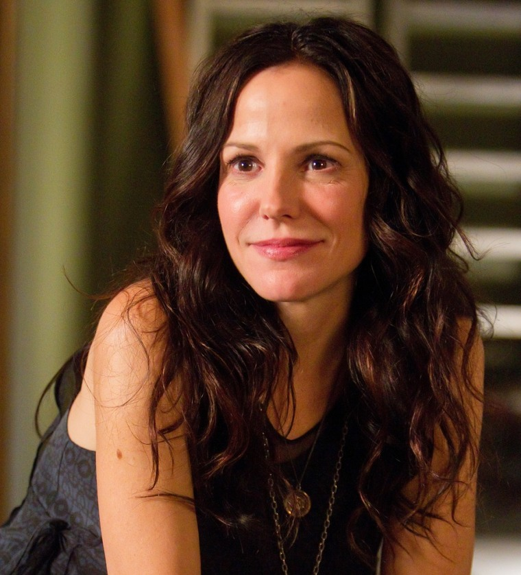 "Mary-Louise Parker as Nancy Botwin on ""Weeds."""