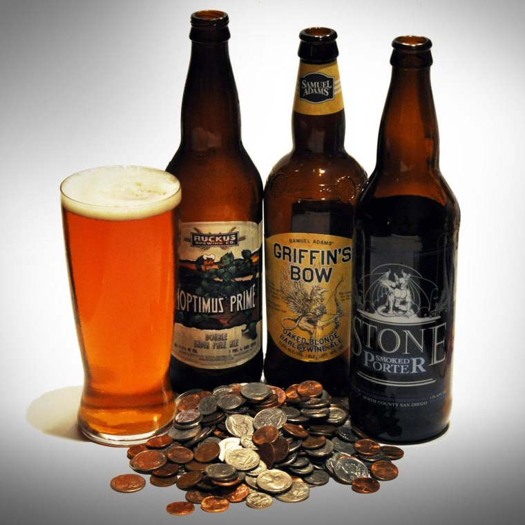 While they are more expensive that their mass-produced cousins, craft beer can still be affordable.