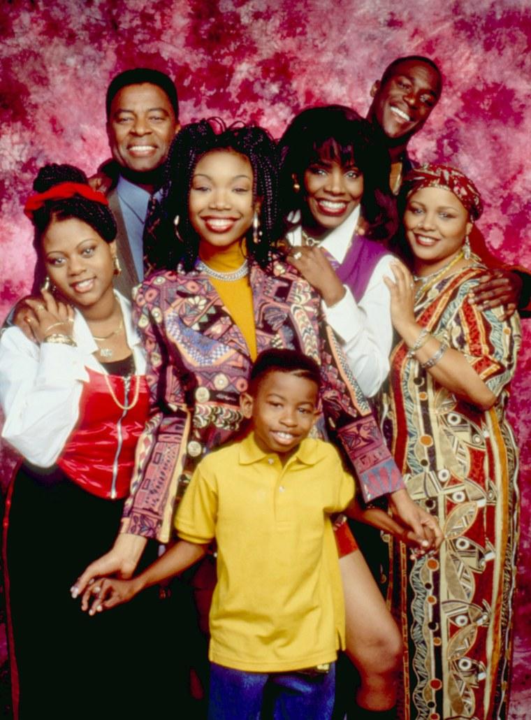 "Yvette Wilson appeared in 1990s hit ""Moesha."" Clockwise from center left, the ""Moesha"" cast was Brandy Norwood, Sheryl Lee Ralph, Lamont Bentley, Wilson, Marcus T. Paulk (front), Countess Vaughn and William Allen Young,"