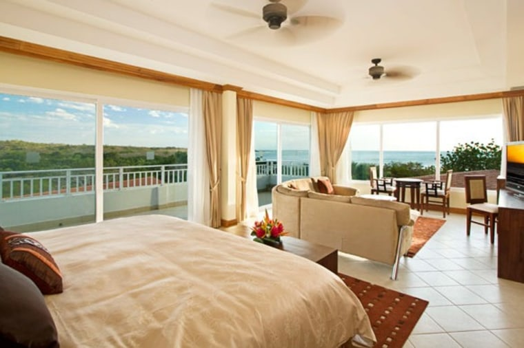 The 134 rooms at Barceló Langosta Beach in Costa Rica have views of the Pacific Ocean or the estuary of Las Baulas.