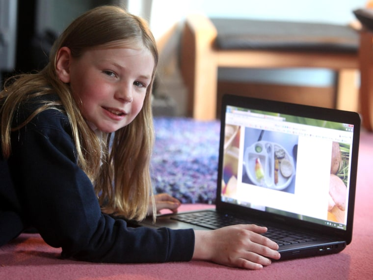 Martha Payne, 9, won't just be blogging about her school lunches anymore. Now, she'll take part in making them better.